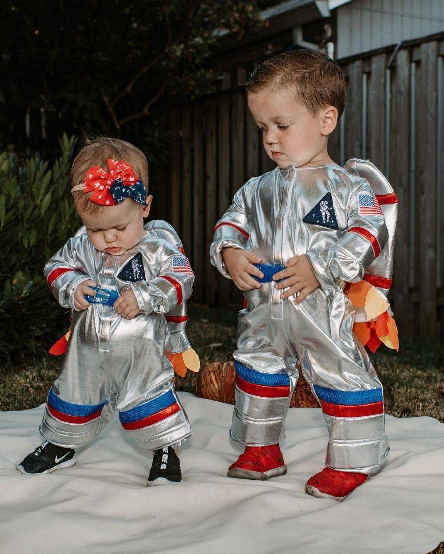 Astronauts! Celebrity Kids' Halloween Costumes of 2021
