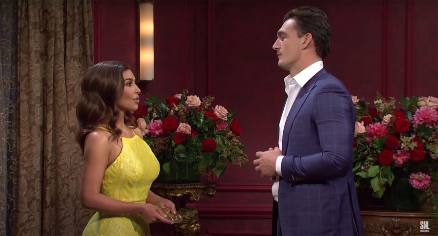 Bachelor Nation Has the Best Reactions to Tyler Cameron's 'SNL' Skit — and They're Shipping Him With Kim Kardashian