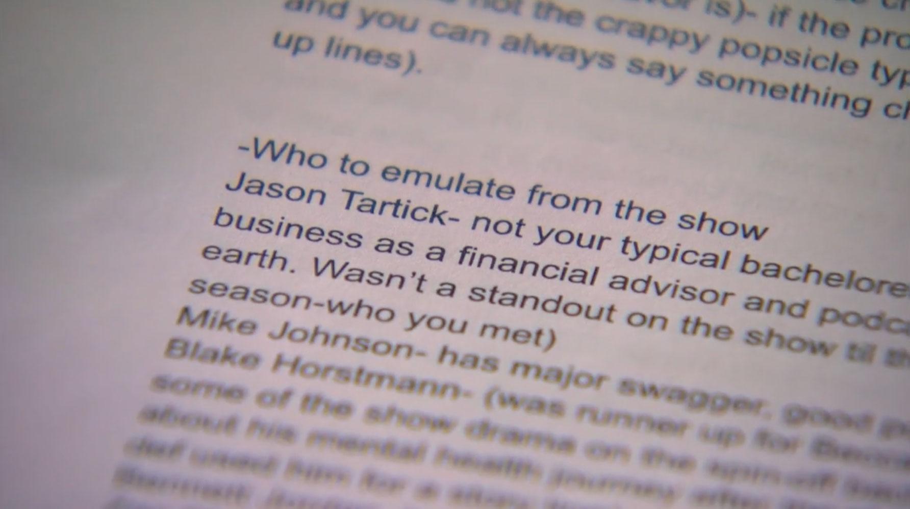 'The Bachelorette' Premiere: Michelle Sends Home Man Who Planned His Arc