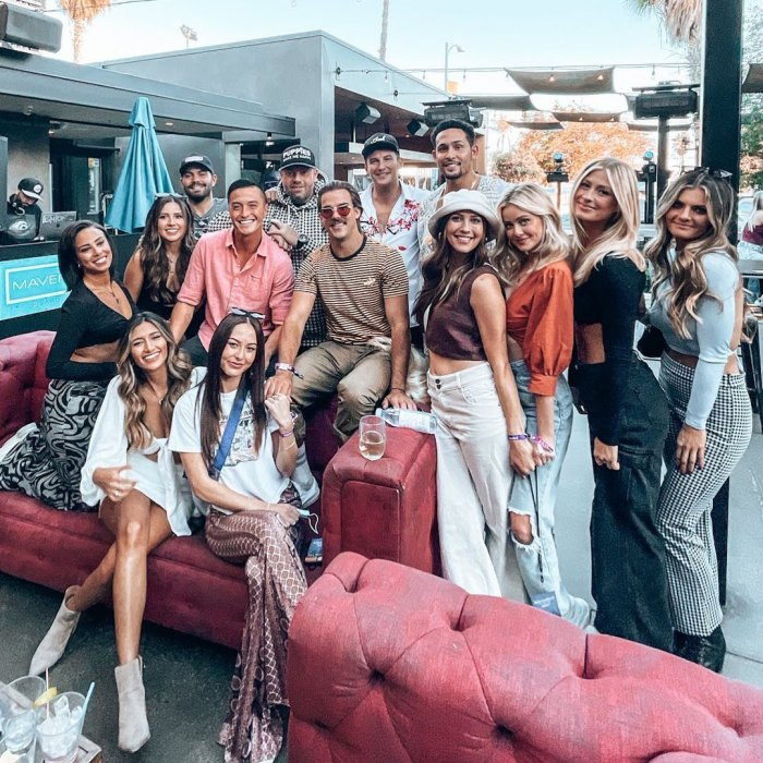 Blake Horstmann, Becca Kufrin and More 'Bachelor' Alums Party