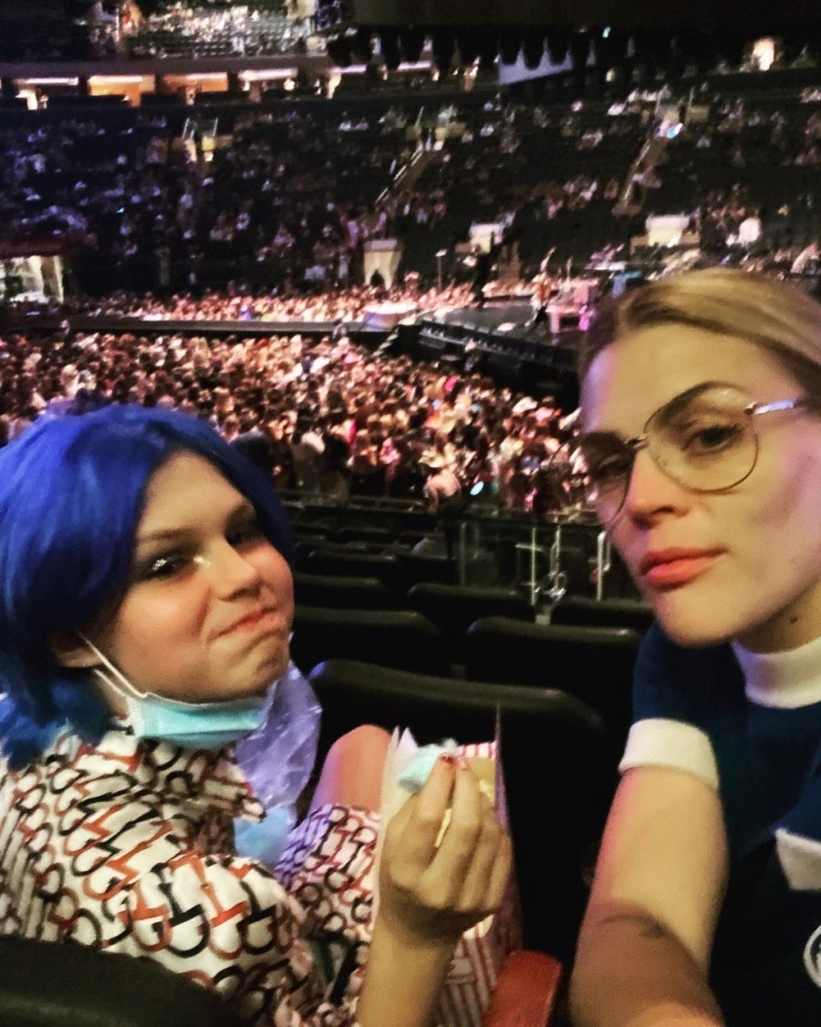 Busy Philipps Attends 'Magical' Harry Styles Concert With Daughter Birdie
