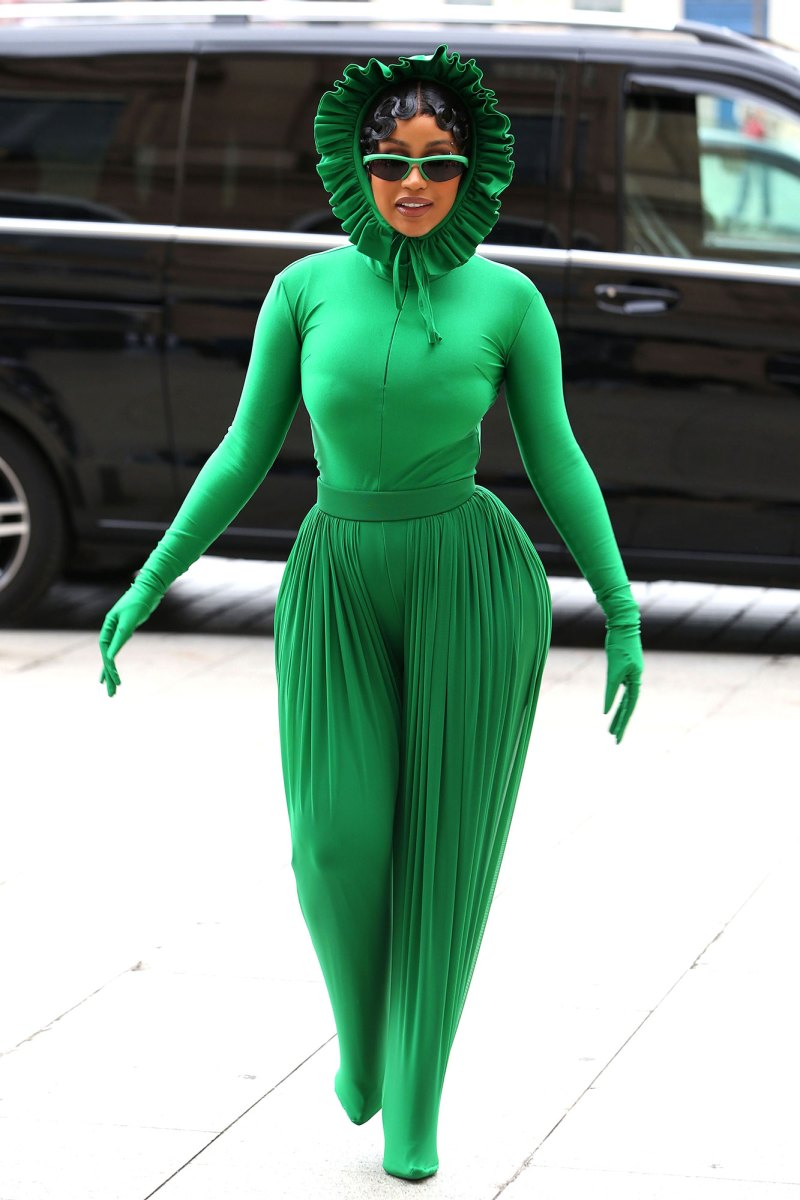 Paris Fashion Week 2021: Cardi B's Best Outfits, Style