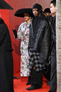 Cardi B Is So Proud Husband Offset Walking Balenciaga Fashion Show