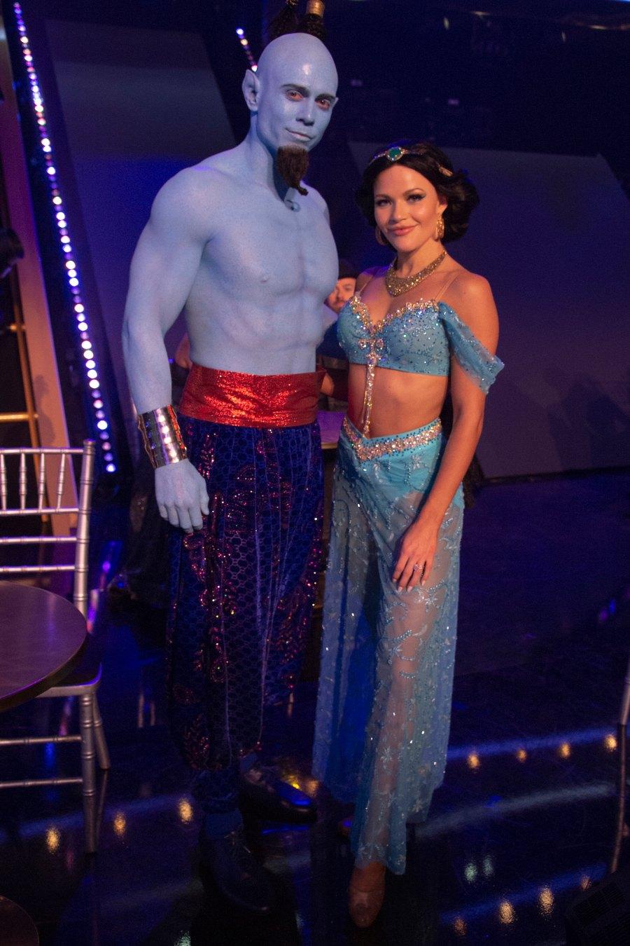 DWTS Disney Week Witney Carson Mike Mizanin