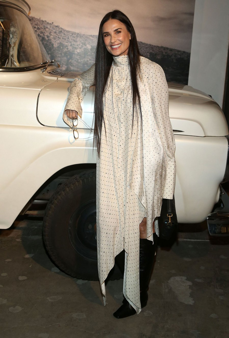 Demi Moore About Last Night