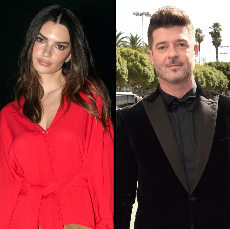 Emily Ratajkowski Claims Robin Thicke Groped Her on Set of the 'Blurred Lines' Music Video