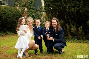 How Meghan King 3 Kids Were Involved Her Cuffe Owens Wedding