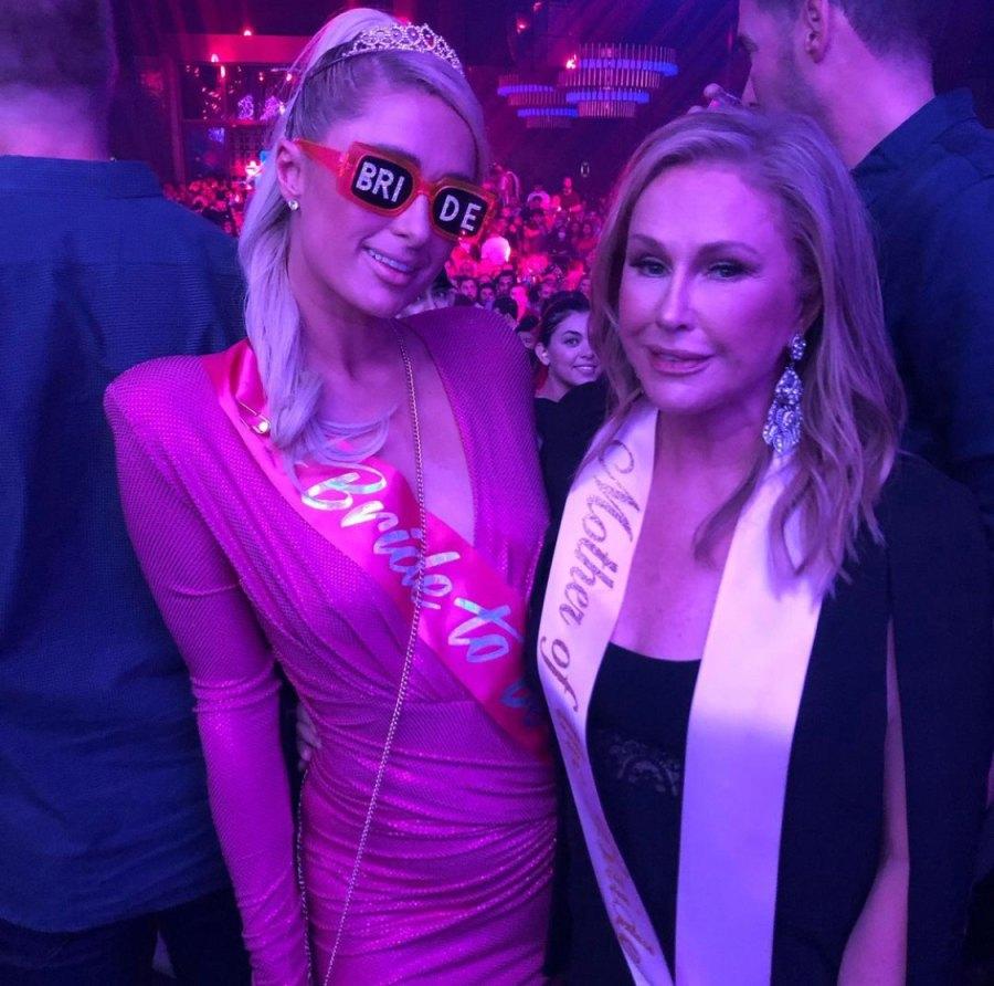 Paris Hilton with RHOBH star Kathy Hilton