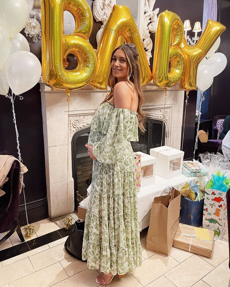 Inside Pregnant Astrid Loch Magical Baby Shower Ahead 1st Child