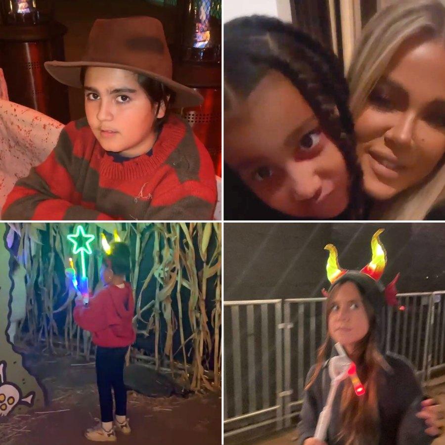 Inside the Kardashian-Jenner Kids 2021 Halloween Festivities