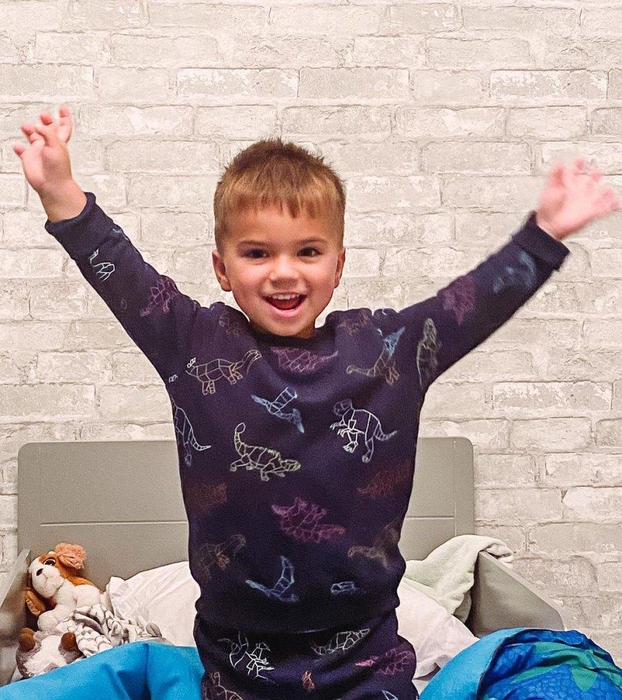 Jana Kramer's Son Jace, 2, Spends 1st Night in Big Boy Bed