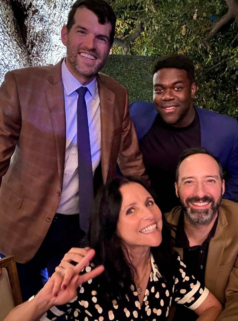 Julia Louis Dreyfus Hangs With Veeps Tony Hale More Awesome Costars