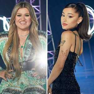 Kelly Clarkson Ariana Grande Give Their Takes From Justin Kelly