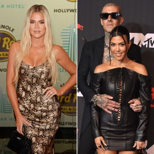 Khloe Kardashian Says Kourtney Is 'So Loved Up' Amid Travis Barker Romance That She Can't 'Rave With' Her