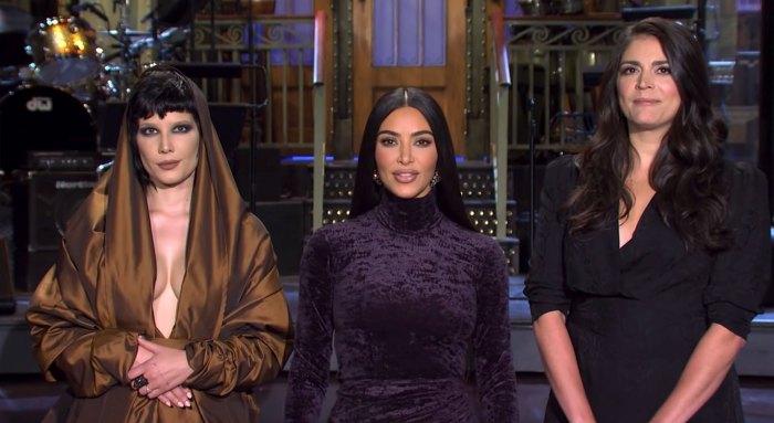 Kim Kardashian Uses Married Name SNL Saturday Night Live Promo