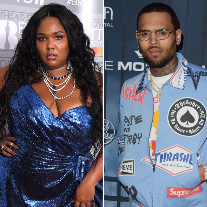 Lizzo Faces Backlash After Calling Chris Brown Her Favorite Person
