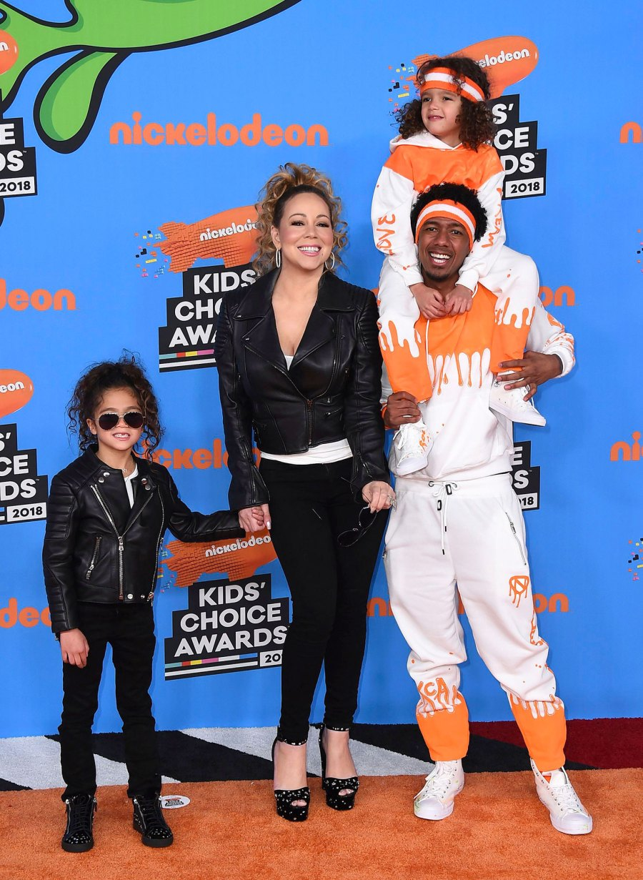 Mariah Carey Moroccan Cannon and Monroe Cannon 2 Nick Cannon Photos With His 7 Children