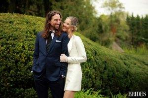 Meghan King Had Husband Cuffee Biden Help Pick Her Wedding Dress: 'Breaking From Tradition'