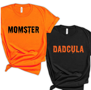 Momster And Dadcula Shirts