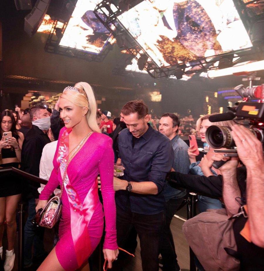Paris Hilton and Carter Reum at her Bachelorette Party