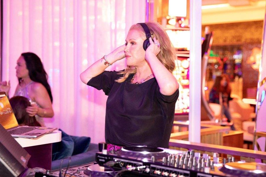 Kathy Hilton at Paris Hilton's bachelorette party.