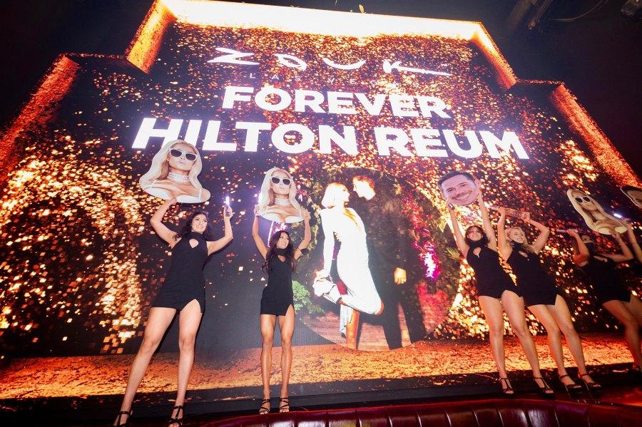 Paris Hilton's bachelorette party at Resorts World Las Vegas.