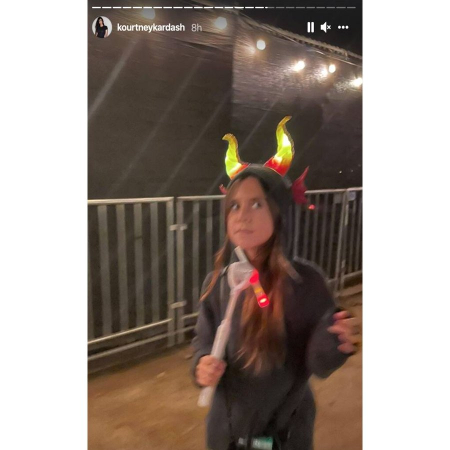 Penelope Kourtney Kardashian Instagram Inside the Kardashian-Jenner Kids 2021 Halloween Festivities