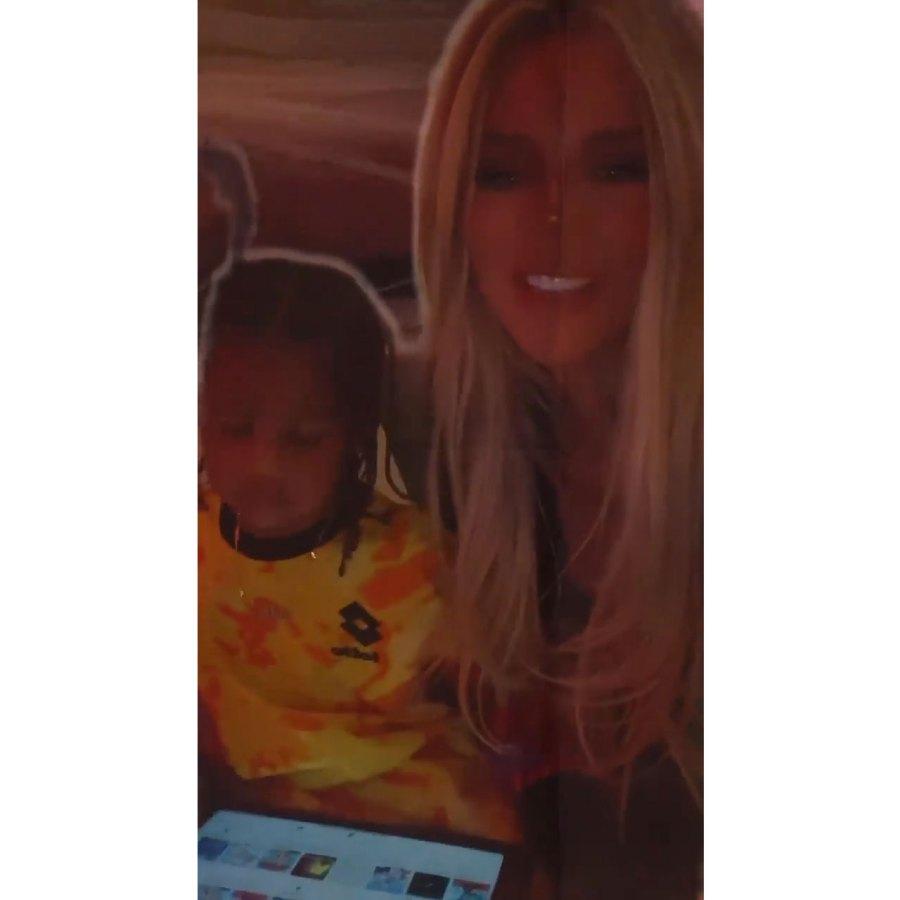 Saint Khloe Kardashian Instagram Inside the Kardashian-Jenner Kids 2021 Halloween Festivities
