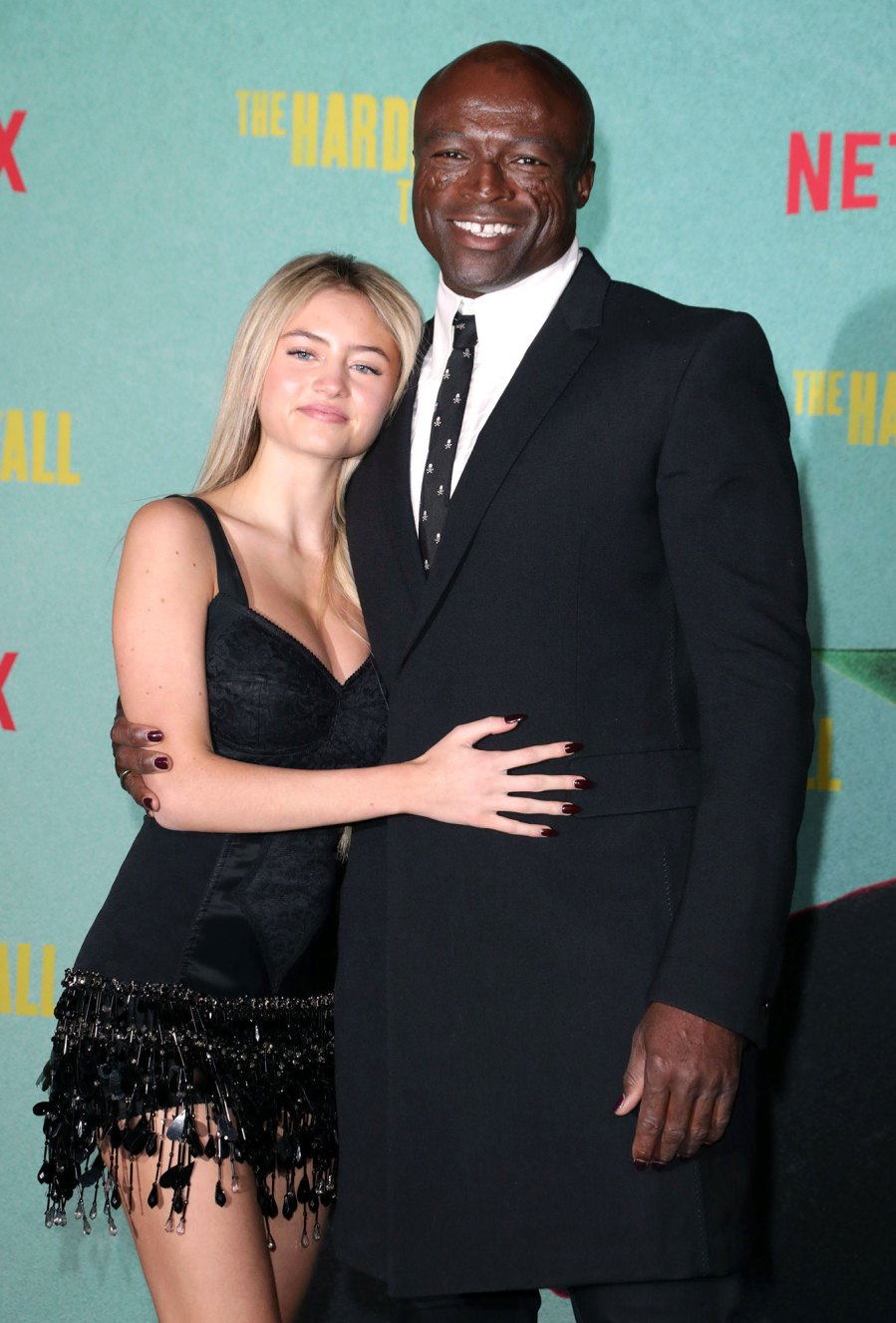 Seal and Daughter Leni Pose at The Harder They Fall Premiere 2