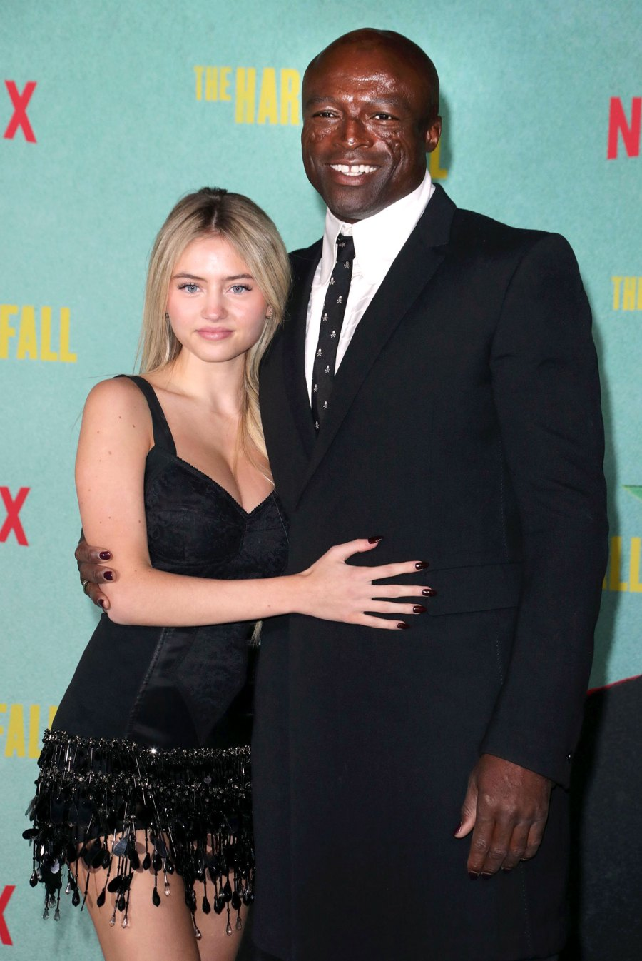 Seal and Daughter Leni Pose at The Harder They Fall Premiere 3