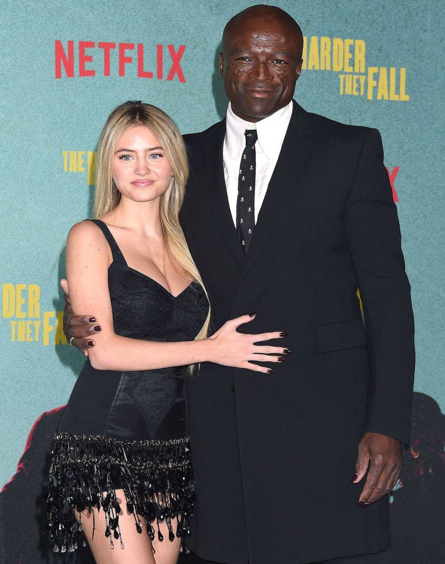 Seal and Daughter Leni Pose at The Harder They Fall Premiere 5
