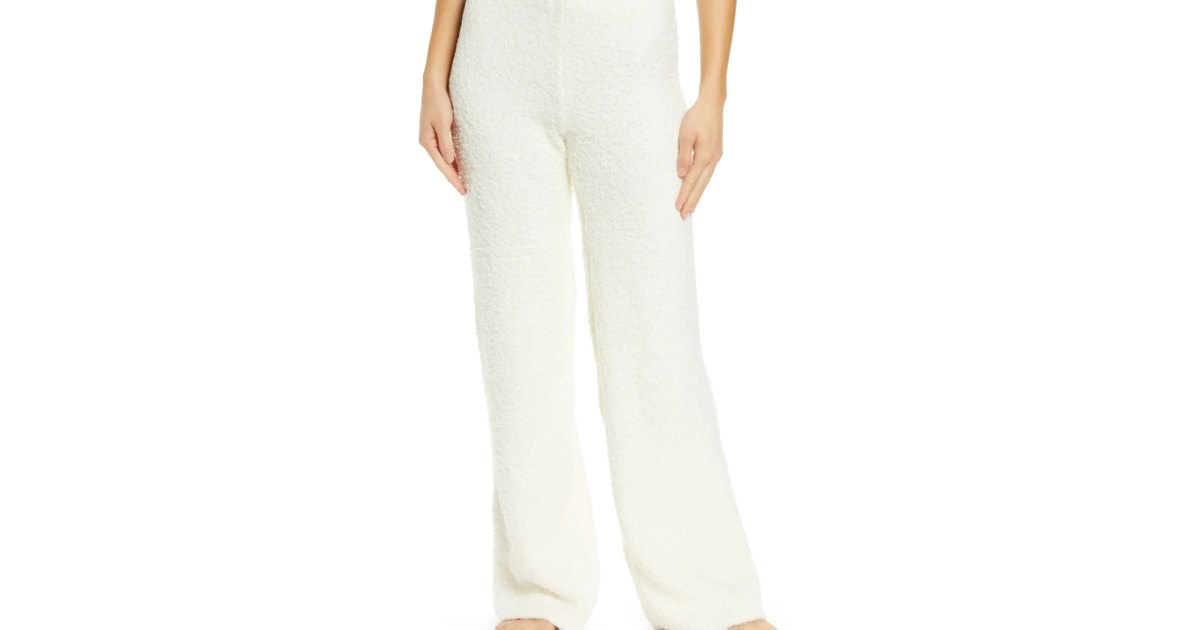 Bundle Up in These Soft Skims Pants From Kim Kardashian's Cozy Collection.jpg