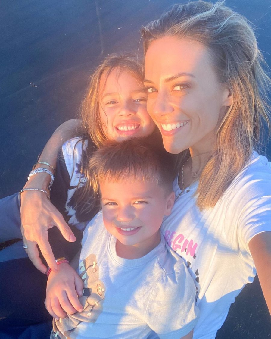 Sunset Shot! Jana Kramer's Best Pics With Her and Mike Caussin's Kids