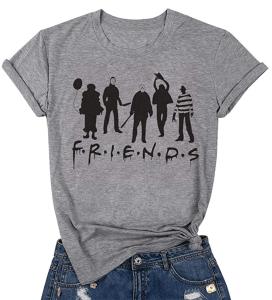 TAOHONG Halloween Friends Shirt