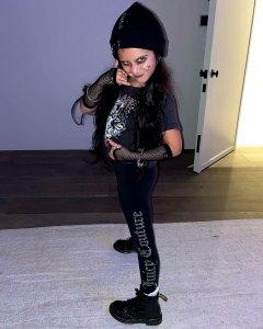 Travis Barker Approves of Kourtney Kardashian's Daughter Penelope's Punk Rock Look: Photo