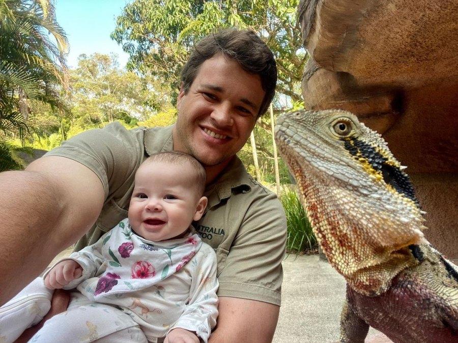 Water Dragon! Bindi Irwin, Chandler Powell's Daughter Meets Animals