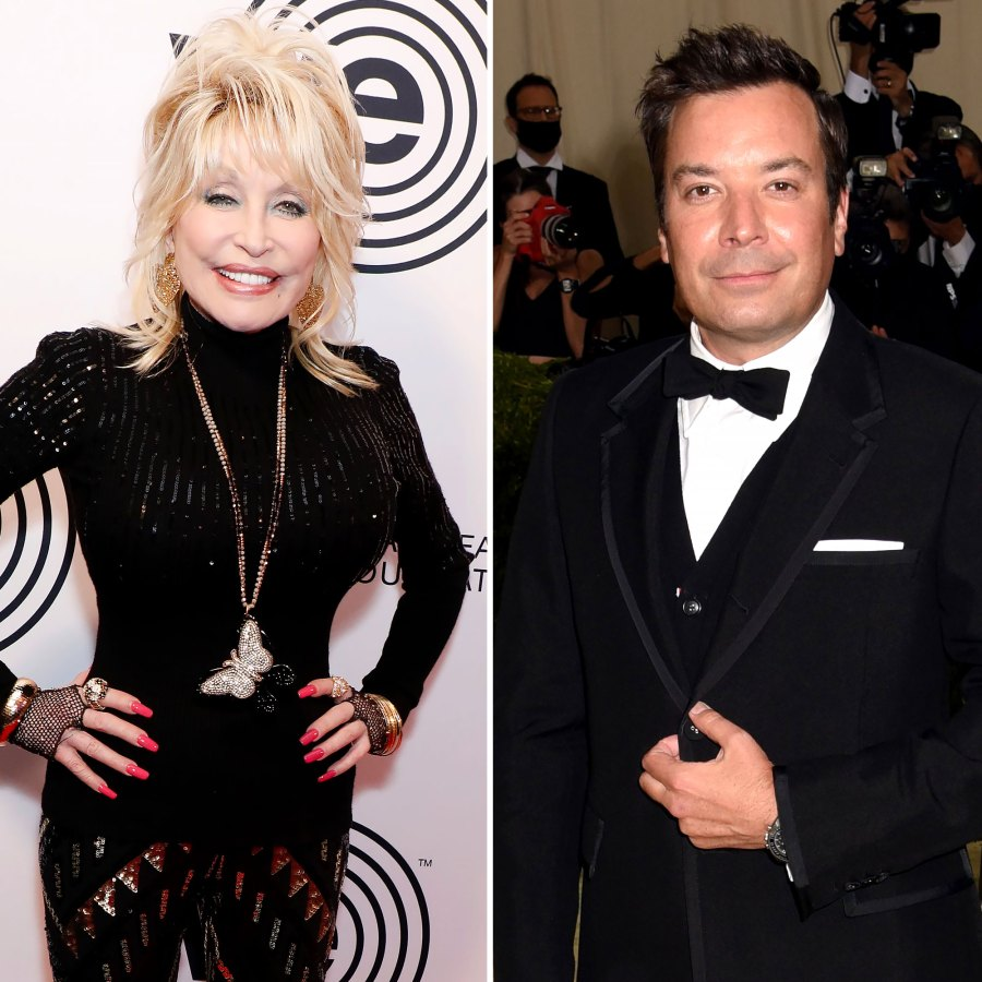 Why Dolly Parton Says Jimmy Fallon is Her Celebrity Crush