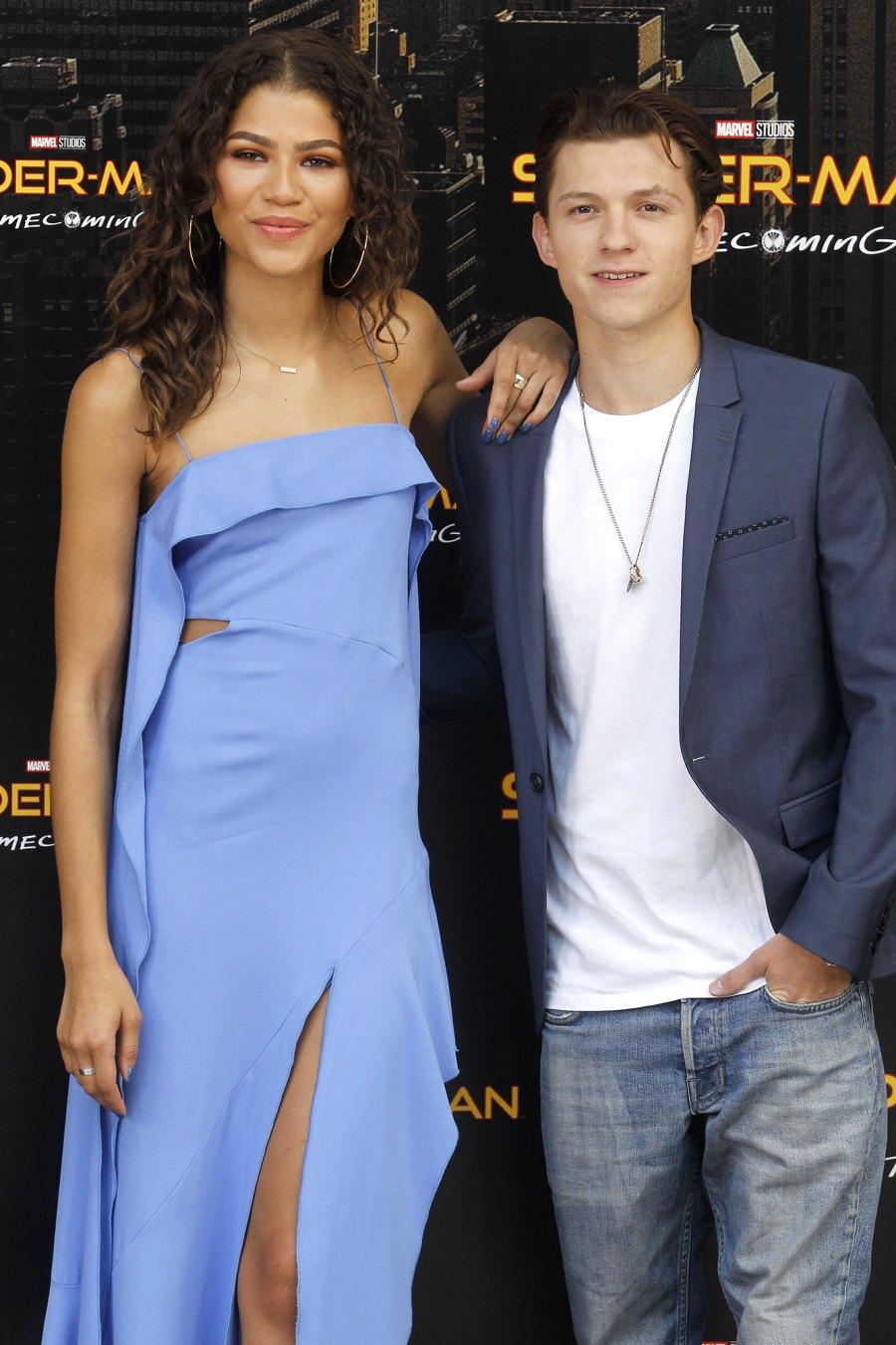 Zendaya Stars Who Love Reality TV Tom Holland