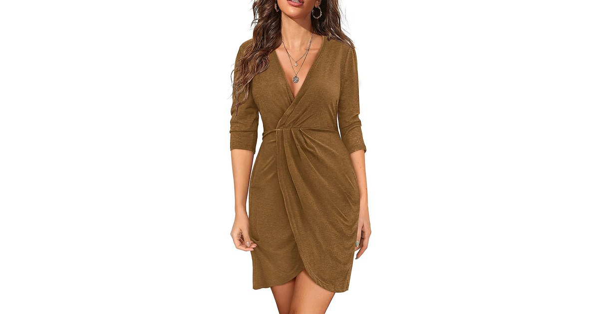 This Wrap-Style Dress Is Giving 'Flattering' a Whole New Meaning.jpg