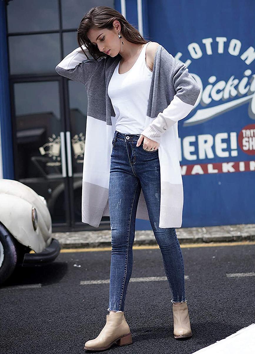 anna-kaci-color-block-cardigan-grey