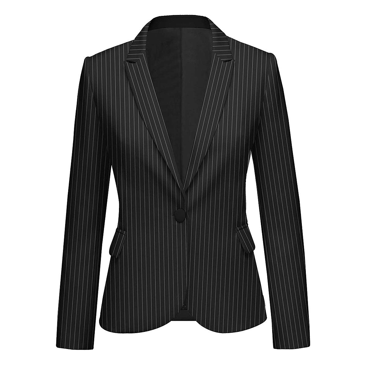 black-pinstripe-blazer-amazon