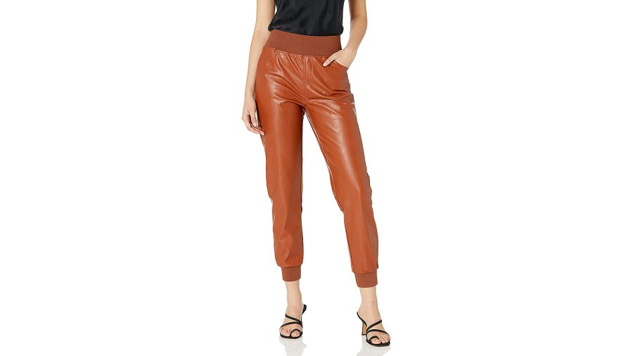 kendall-kylie-faux-leather-joggers