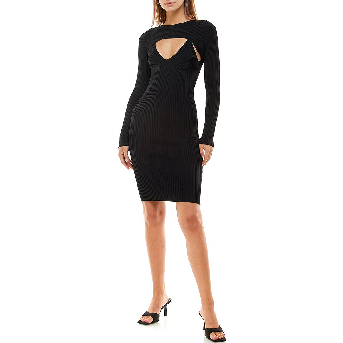 nordstrom-ribbed-clothing-cutout-dress