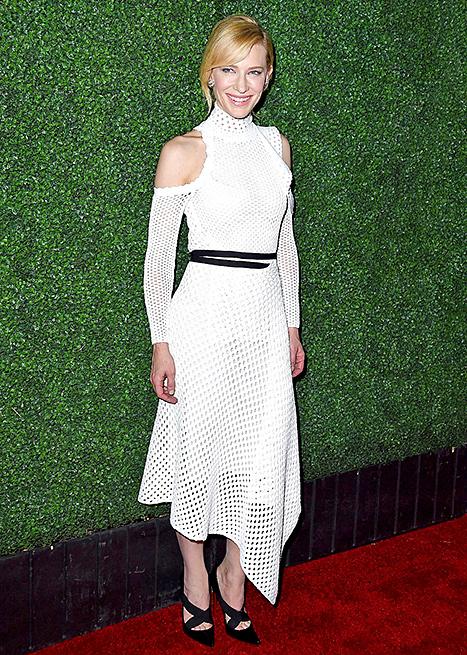 Cate Blanchett - white