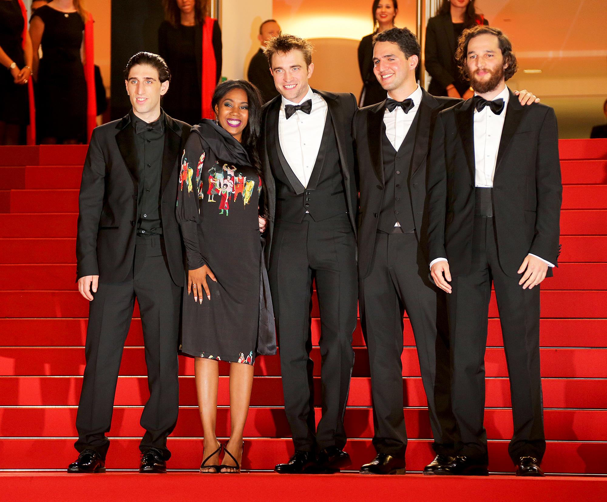 Joshua Safdie, Robert Pattinson, Ben Safdie, Buddy Duress and Taliah Webster