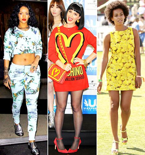 Rihanna, Katy Perry and Solange