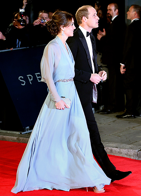 Kate Middleton and Prince William - Spectre