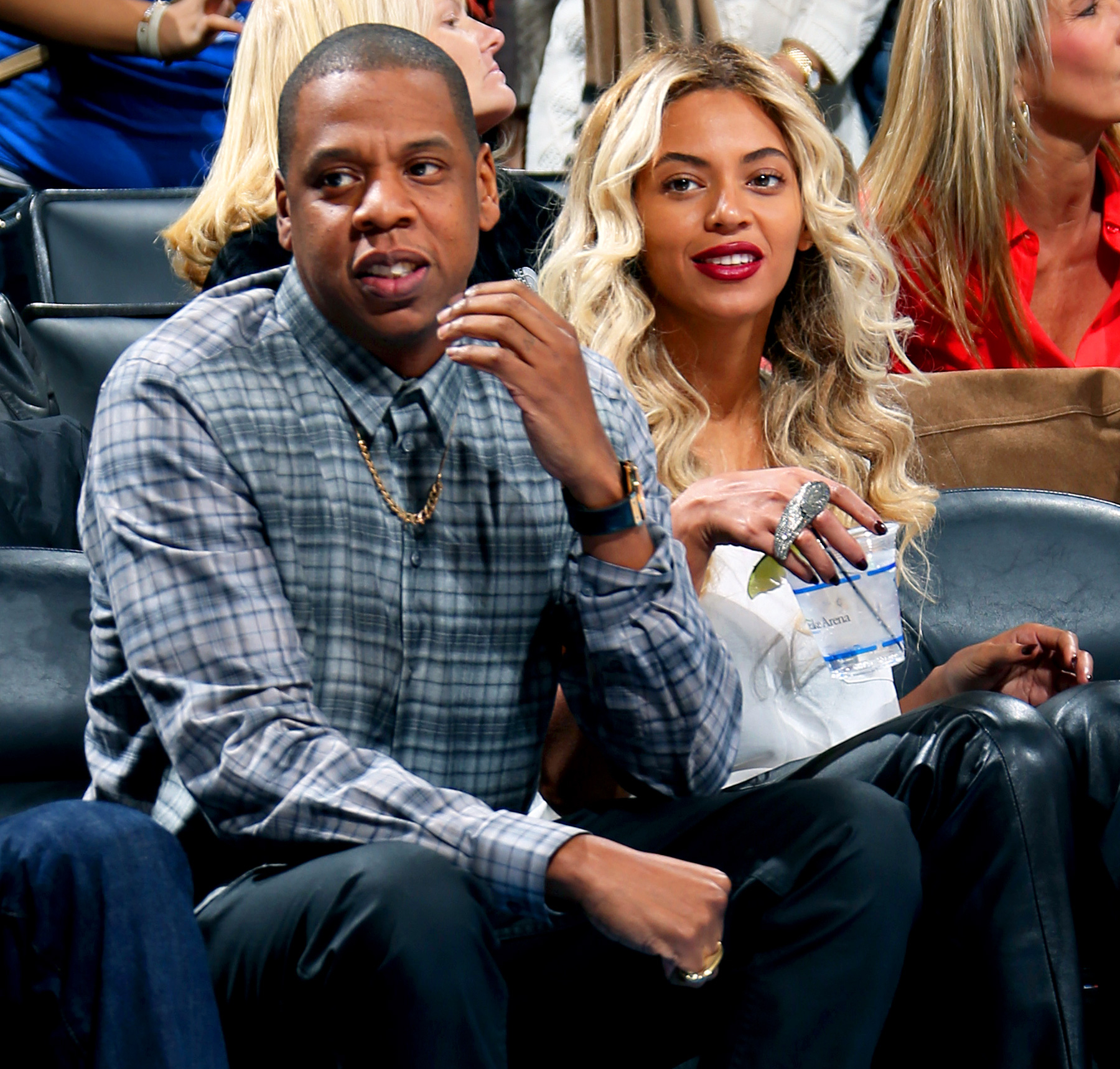 Report: Beyoncé and Jay-Z Shower North West With Dior Booties and OtherGifts picture