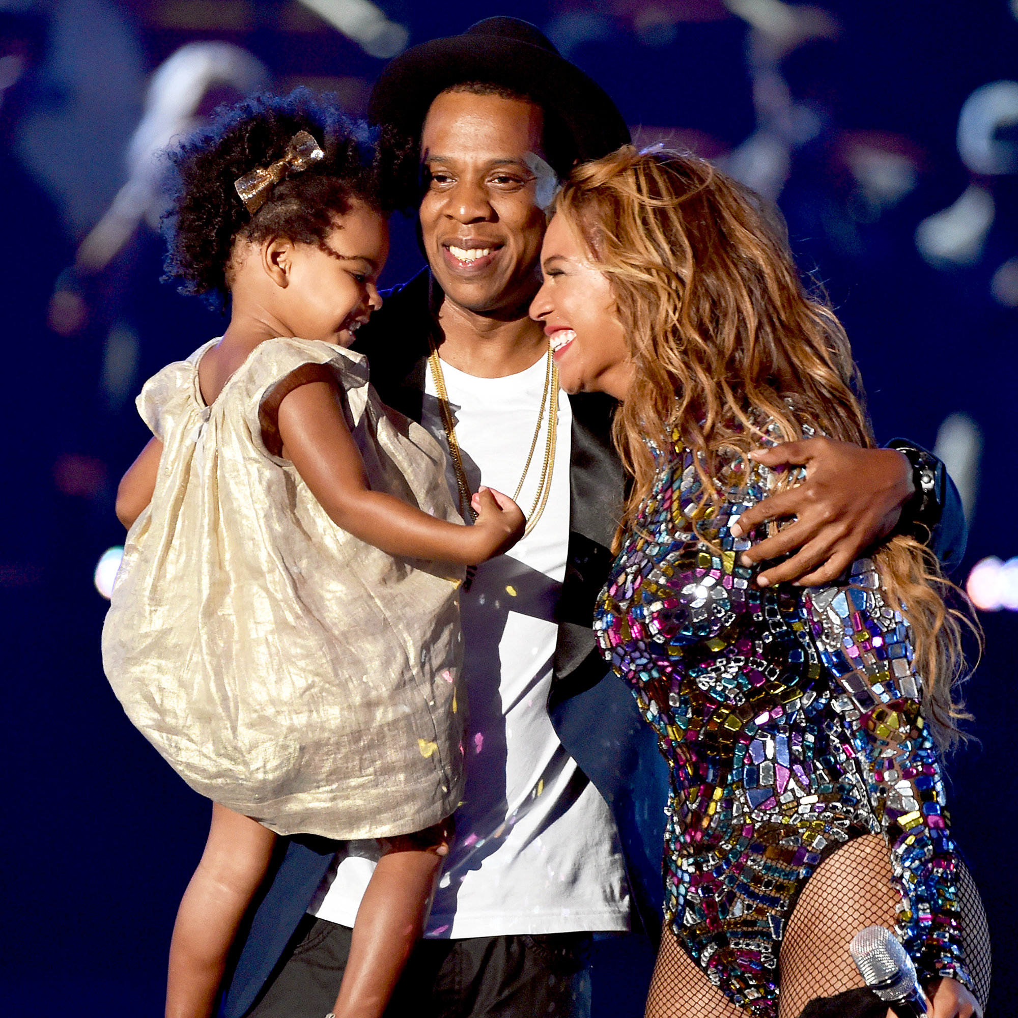 Jay Z, Beyonce and Blue Ivy
