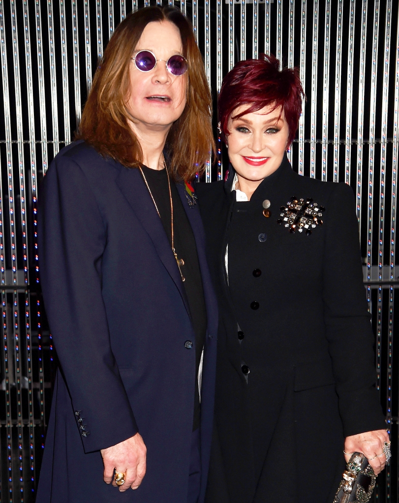 Pictures of ozzy and sharon osbourne Sharon Osbourne Gets Stuck on Private Jet After